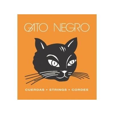 Cuerdas guitarra clásica o flamenca Gato Negro Nylon Claro