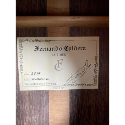 "Guitarra Fernando Caldera ""La Invencible"""