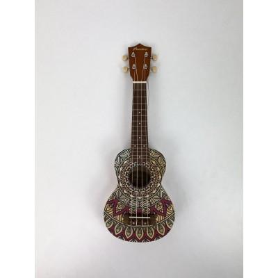 Ukelele Soprano Bamboo Deluxe