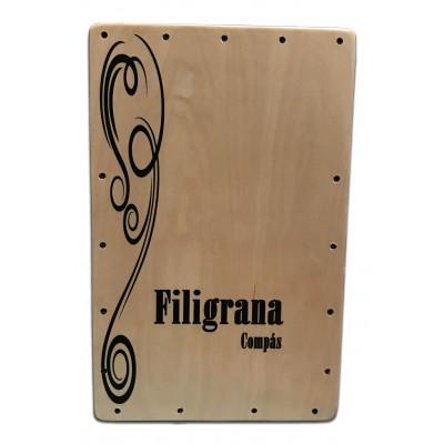 Cajón Flamenco Filigrana Compás