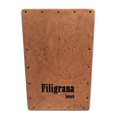Cajón Flamenco Filigrana Solera.