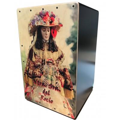 Cajón Flamenco Virgen del Rocio Pastora