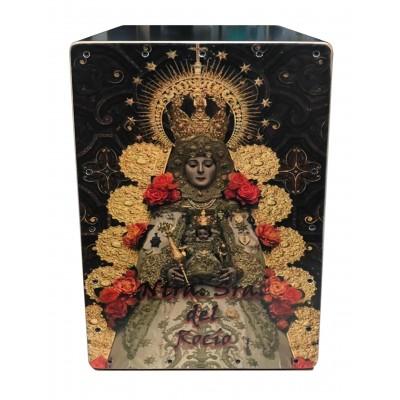 Cajón Flamenco Virgen del Rocio Reina